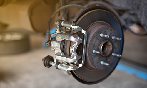 braking system of a car